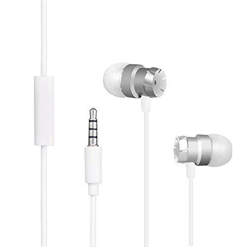In-Ear Kopfhörer für Blackview Outdoor Handy, Länger Stecker Kompatibilität, Innerbetriebliche Mikrofon und Fernbedienung für Blackview Robuste Smartphone