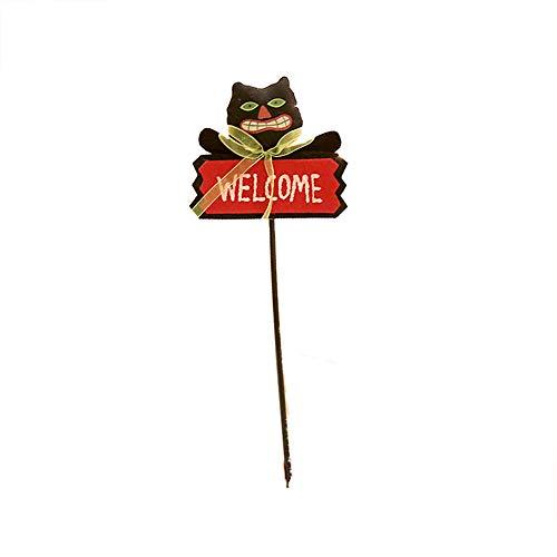 TOPFAY Halloween, Holding A Cane der Neuheit-Partei-Dekoration Supplies lustige magische Neuheit für den Unterricht Kinder Das Spiel Bat (Den Unterricht Für Halloween-spiele)