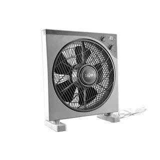 Kastenventilator (Boxfan) mit Timer, 3 Stufen 45W