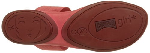 Camper Right Nina, Sandales Femme Pink (Medium Pink)