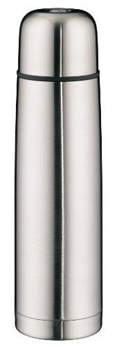 alfi Isolierflasche isoTherm Eco, Edelstahl mattiert 1,0 l