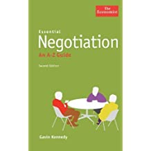 Essential Negotiation: An A to Z Guide by Gavin Kennedy (2009-05-27)