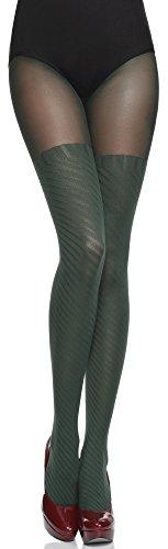 sching Strumpfhose Tida 60 DEN (Bottle grün, S (32-36)) ()