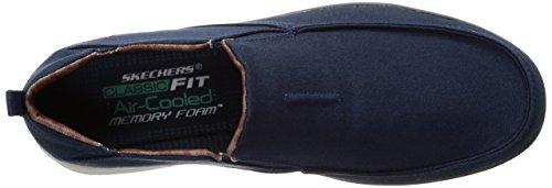 Scarpe uomo, colore Blu , marca SKECHERS, modello Scarpe Uomo SKECHERS BOYAR LENTED Blu Blu
