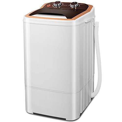 Elution integrierte Single-Barrel-halbautomatische große Kapazität Mini-Waschmaschine, lila Licht antibakterielle ultra leise Energiesparen kann regelmäßig gewaschen werden Abfluss Haushalts kleine Wa