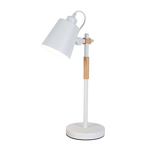 JXSHQS Tischlampe Eyes Learning College Dormitory Schreibtischlampe Modern Nordic IKEA Individualität Kreativ Schlafzimmer Nachttischlampe Rocker Dekorative Tischlampe