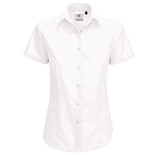 B&C Collection - Chemisier - Moderne - Femme Blanc