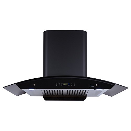 Elica 90 cm 1200 m3/hr Auto Clean Chimney with Free Installation Kit (WD HAC TOUCH BF 90, 2 Baffle Filters,...