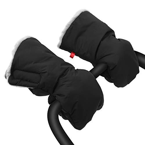Extra dicke Kinderwagen-Handmuschel, Kinderwagen-Handschuhe, wasserdicht, Frostschutz, warm, Winter-Baby-Handschuhe, für Eltern und Pflege, JKsmart