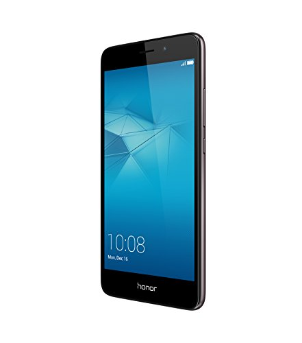 Honor 5C Smartphone 4G, Display 5.2' IPS LCD, 2 GB RAM, 16 GB memoria interna, Fotocamera da 13 MP, Android M EMUI 4.1, Batteria 3100 mAh, Dual SIM, Grigio