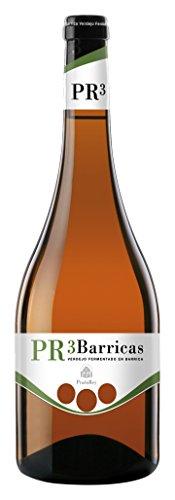 Pr3 Barricas - Vino Blanco - Verdejo - Rueda - Vino De Autor - 9 Meses En Barrica Y Sin Maloláctica - 1 Botella - 0,75 L