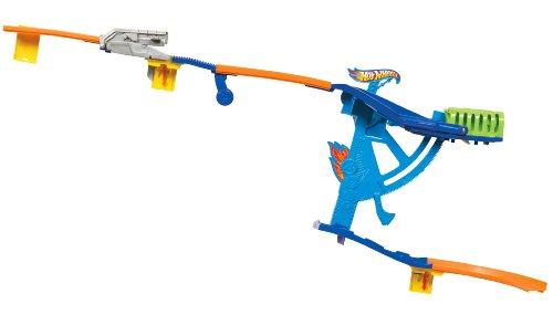 Hot Wheels Wall Tracks Swing-Arm Slide Track Set by Hot Wheels