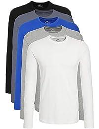 c67d76b6c Amazon.es  Camisetas de manga larga - Camisetas