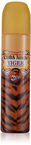 Cuba Paris Cuba Jungle Tiger EDP 100 ml Vapo, 1er Pack (1 x 100 ml) -