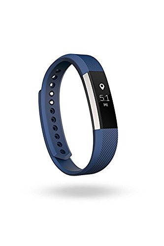 Fitbit Alta - Pulsera para actividad física, color azul, talla S