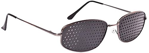 Irisana AMZ_72.IR07M Gafas Reticulares, Color Negro - 45 gr