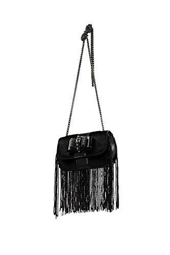 3155149CM47 Louboutin Sac à bandoulière Femme Poney Cuir Noir Noir