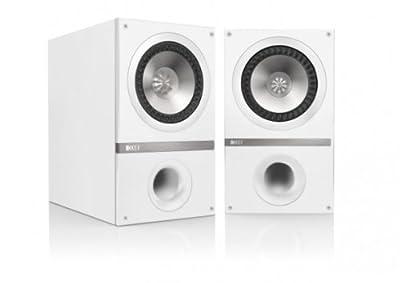 Kef Q300 Coppia diffusore da scaffale a 3 vie, Bianco prezzo scontato da Polaris Audio Hi Fi