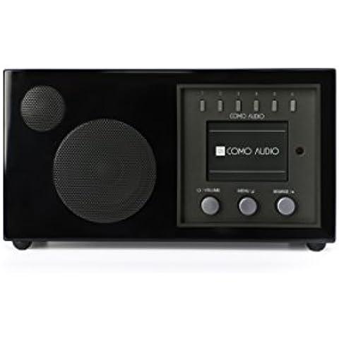 Como Audio Solo Piano Nero (Singolo Stereo Cabinet)