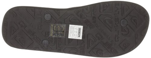 Quiksilver Molokai , Herren Zehentrenner Braun (Dark Brown/Dark Brown/Cream)