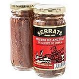 Filets d'anchois à l Huile d'Olive 100g 12 unités