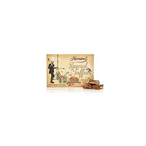 Thorntons Noix du Brésil Box Toffee spécial (500g)