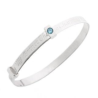 Sterling Silver Expander Prince Charming Bracelet Bangle for Babies