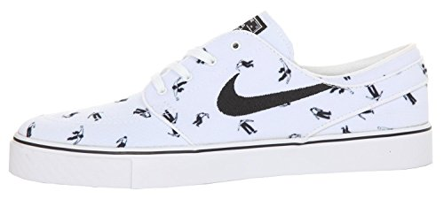 Nike Zoom Stefan Janoski Cnvs Prm, Scarpe da Skateboard Uomo, Taglia Unica Bianco (Blanco (Blanco (White/Black-White)))