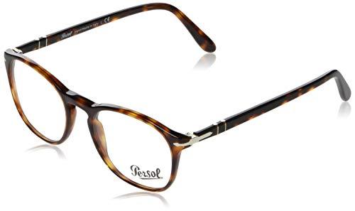 Persol Optical Frames Frame HAVANA WITH DEMO LENS -