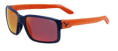 Cébé Sonnenbrille, Dude Shiny Blue 1500 Grey Fm Orange, M