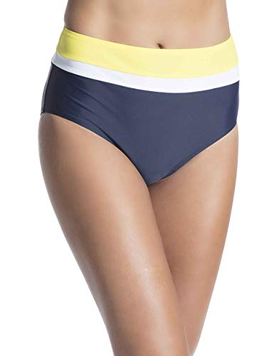 ESPRIT High-Waist-Slip im Color-Block-Look - Color Bikini
