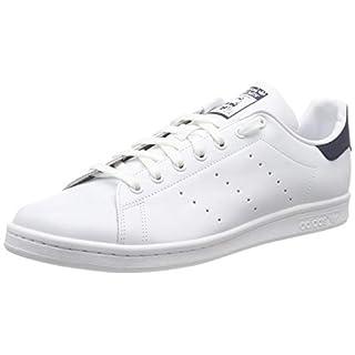 adidas Originals Stan Smith, Unisex-Erwachsene Niedrig, Running White/New Navy, 43 1/3 EU (9 UK)