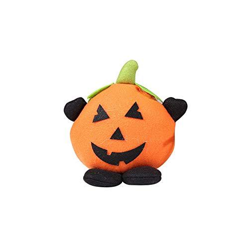 ty-Dekorationen, Kinderdekor-Geschenk Halloween-Puppe Zubehör Spielzeug Kürbis-Hexe-Plüsch-Puppen Ornaments Startseite Schlafzimmer Trick Treat (Kürbis) ()