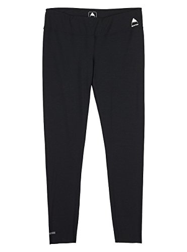 Burton Damen Midweight Pants Thermo Unterhose, True Black, XS | 09009520743368