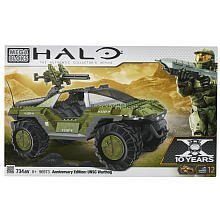 Mattel Mega Bloks 96973 - Halo UNSC Warthog Anniversary Edition - Grosses SAMMLERMODELL