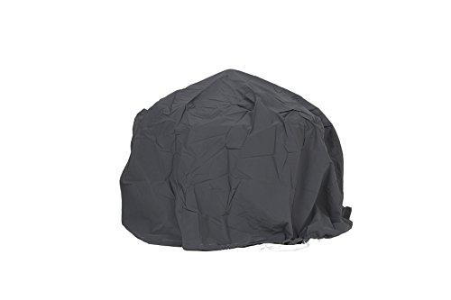 La Hacienda 60543 Large Deluxe Firepit Cover - Grey/Black