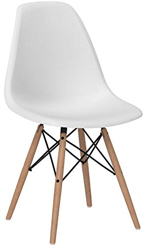 regalosMiguel - Sillas Comedor - Silla Tower Basic - Blanco