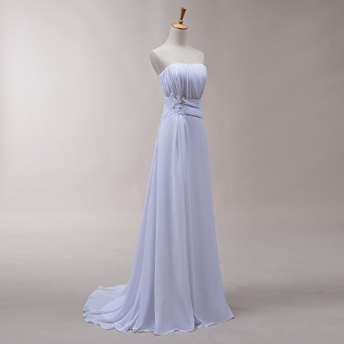 Bridal_Mall - Robe - Trapèze - Sans Manche - Femme Vert - Vert