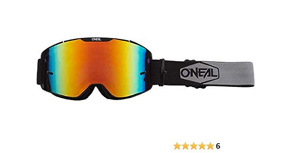 O /'Neal b-30 Goggle Duplex MOTO CROSS OCCHIALI Radium DH DOWNHILL MX a specchio