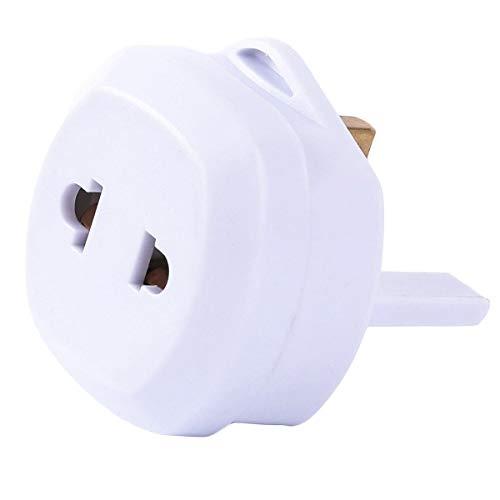 XingYue Direct EU/US nach Großbritannien 3 Pin Stecker Adapter Rasierzahnbürste Adapter Epilierer Bad