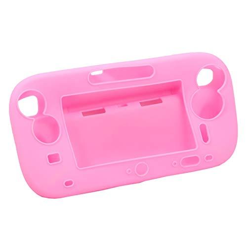 Schutzhülle aus weichem Silikongel für Wii U Gamepad Controller, Pink