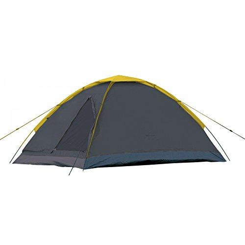 Camp Active Dome Zelt für 2 Personen ca. 185x120x100 cm (LxBxH) - Kuppelzelt in Grau