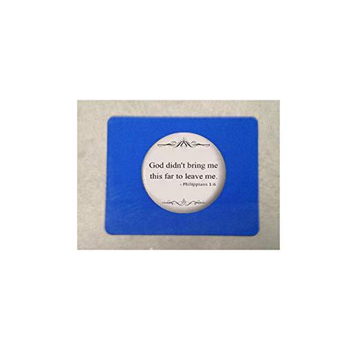 Bible Quote- Religious Jewelry alfonbrilla para ratón