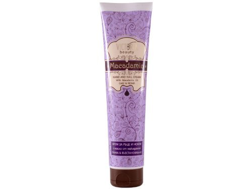 Victoria Beauty Protective Repairing Hand & Nail Cream with Macadamia Oil / Suitable for Extremely Dry Hands / Your Hands Deserve It!