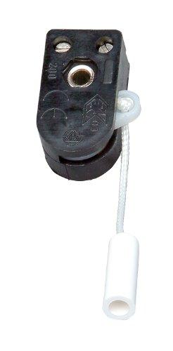 Kopp 191700084 Einbau-Zugschalter, 1-polig, 250 V, 2 A