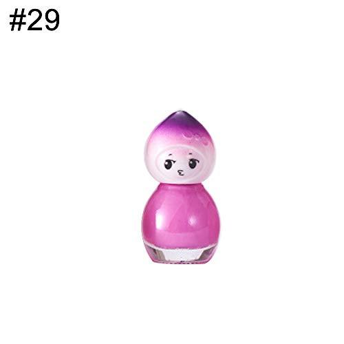 Doll Design Clear Kids Nagellack, schnelltrocknend, langlebiger Lack - 29#