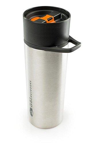 GSI Outdoors - Vakuum-Kaffeepresse 0,4 L, Edelstahl