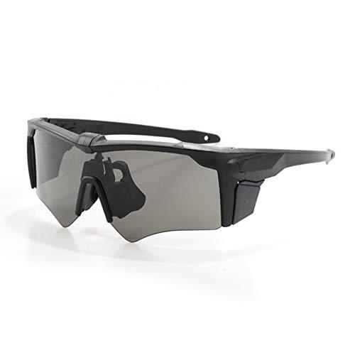 Schutzbrille Mit Sehstärke Sportbrille Mit Wechselgläsern Army Fan Outdoor Brille Taktische Brille Spiegel Armbrust 2 Generation Brille 3 Stück Set Brille Schießen Brille Black Damen Herren