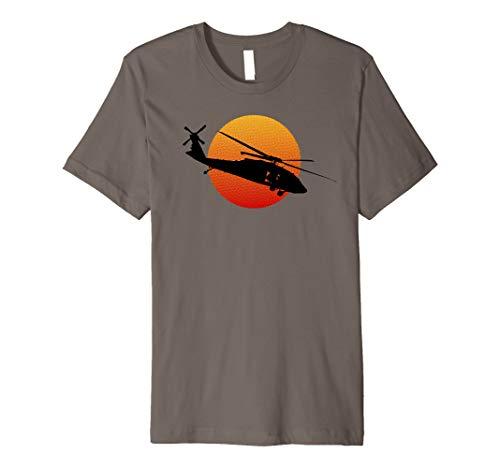 UH-60 Black Hawk Hubschrauber Militärgeschichte T-Shirt