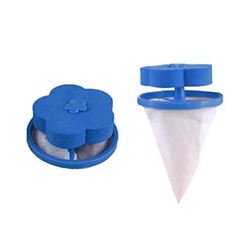 Dtuta Filterkartuschen Flusensiebeinsatz WaschmaschinenzubehöR Dekontaminierung, Haarentferner, Floating, Filterbeutel
